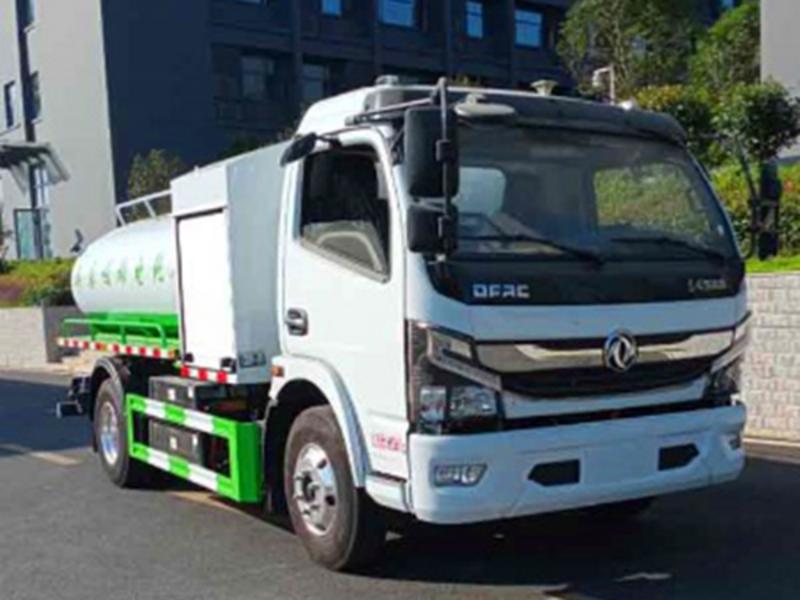 请欣赏新能源纯电动环卫全系(二十三),东风纯电动5方吸污车