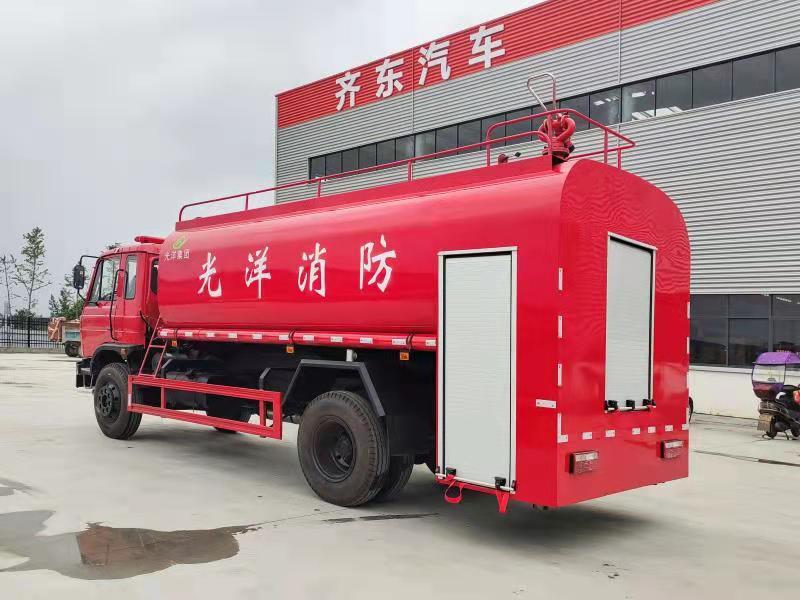 东风15方消防洒水车