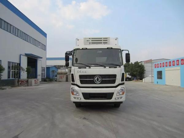 国六东风天龙 小三轴8.6米 冷藏车