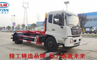 東風天錦國六4700鉤臂垃圾車圖片