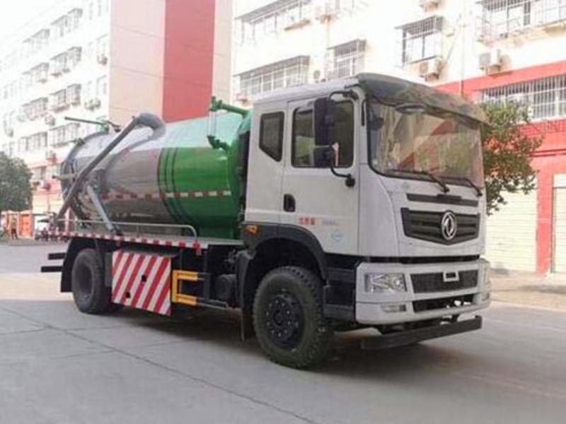 新品推荐清洁能源天然气系列(四),天然气12方吸污车