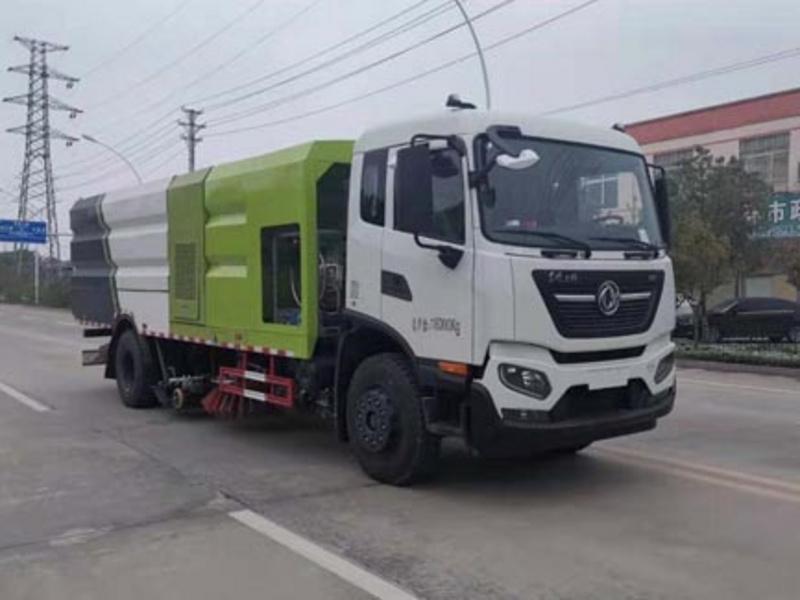 新品推荐清洁能源天然气系列(七),天然气12方洗扫车