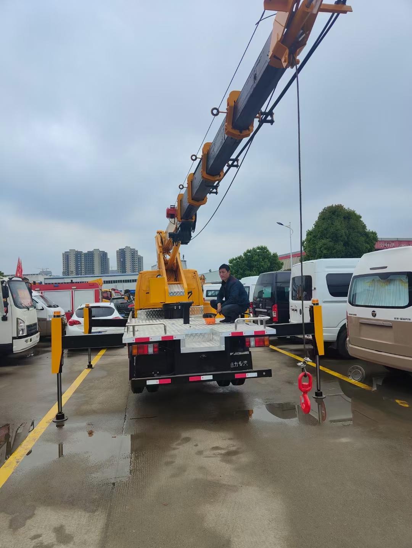 江铃25米直臂高空作业车价格视频