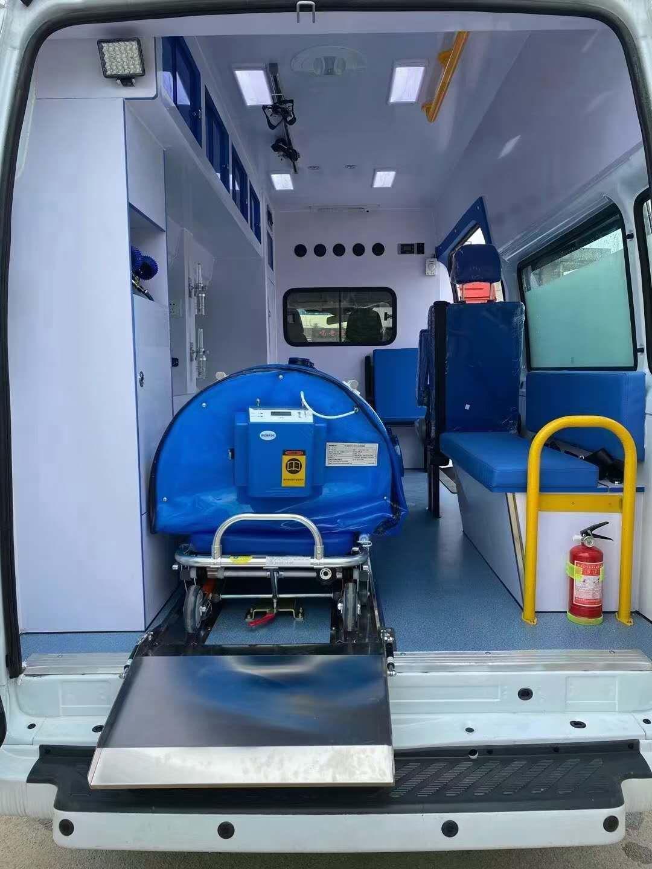 福特V348双负压救护车价格图片