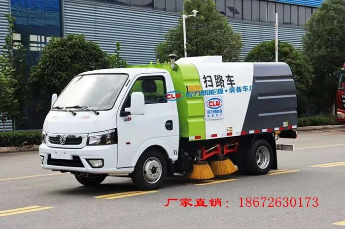 国六东风途逸2.5方扫路车视频