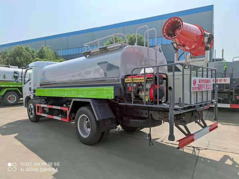 国六东风D9绿化喷洒车,园林绿化,空气净化视频