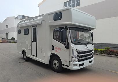 上汽跃进H500自动挡轻卡房车生产厂家报价图片