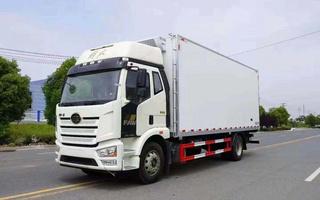 国六解放J6长途冷链运输车图片