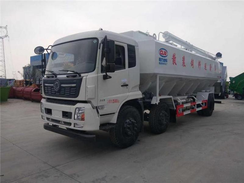 30方(15吨)散装饲料运输车厂家价格