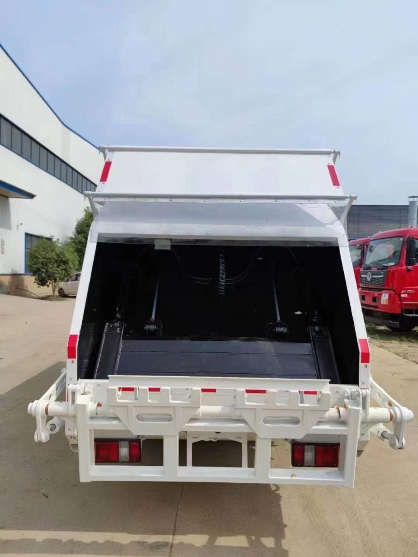 國六江玲4方壓縮垃圾車廠家銷售 終身質保圖片