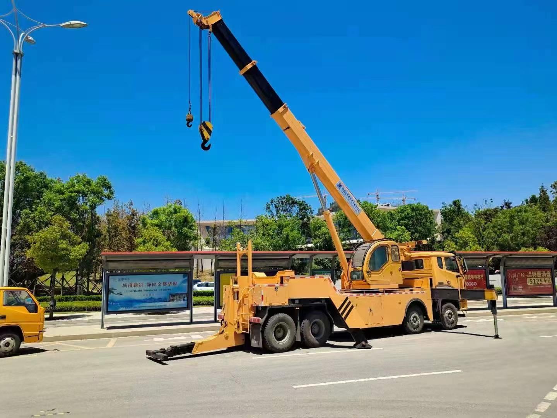 重汽前四后八汽車吊清障帶吊救援專用車圖片