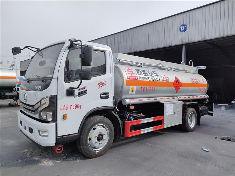 国六加油车 东风多利卡8.5立方柴汽油双介质流动8吨加油车图片