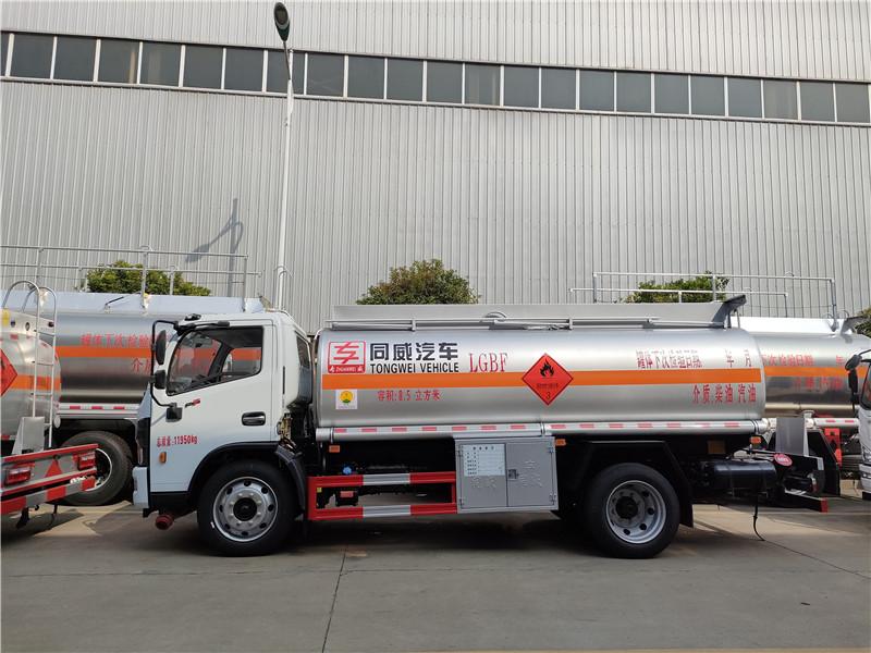 国六东风福瑞卡8.5方云内170匹马力超级动力流动加油车视频视频