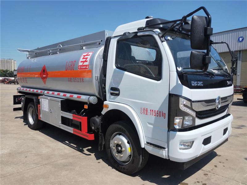 国六8吨油罐车170马力油罐车好不好用视频