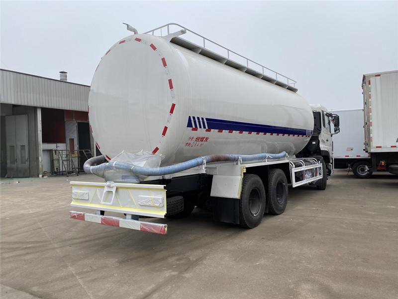天龙三轴27方散装水泥砂浆罐车