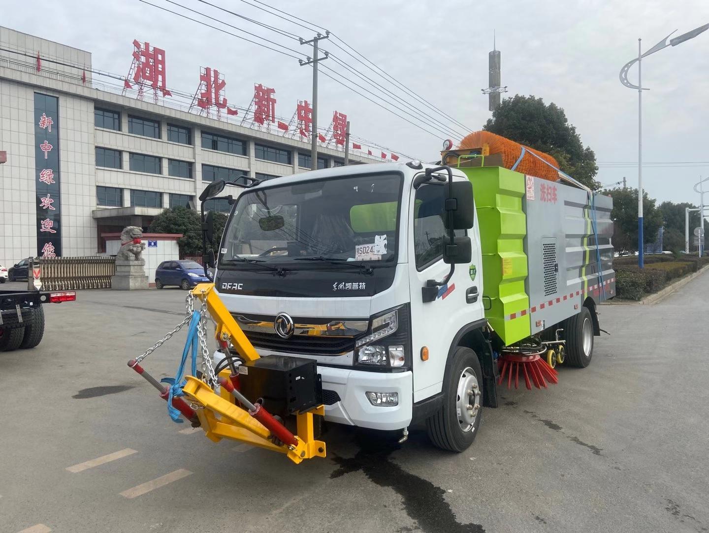 國六東風小多利卡掃路車圖片