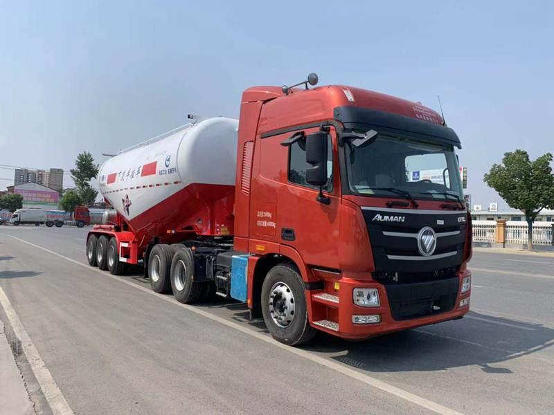 福田33吨散装水泥罐挂车