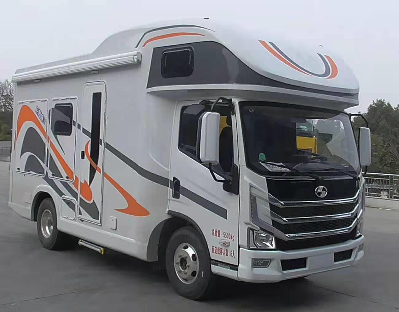 跃进H500轻卡房车生产厂家报价图片
