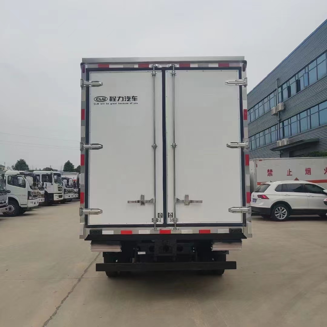 解放虎v四米二冷藏车,家直销无中间环节图片
