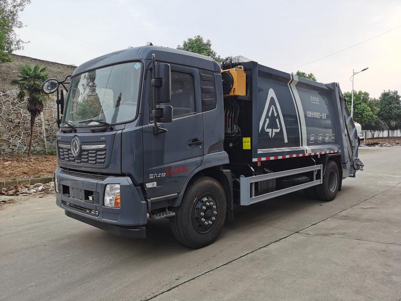 大鑫东风14方压缩垃圾车小区景区物业垃圾的好帮手图片