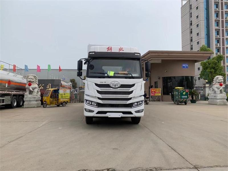 散装饲料运输车装卸料操作步骤