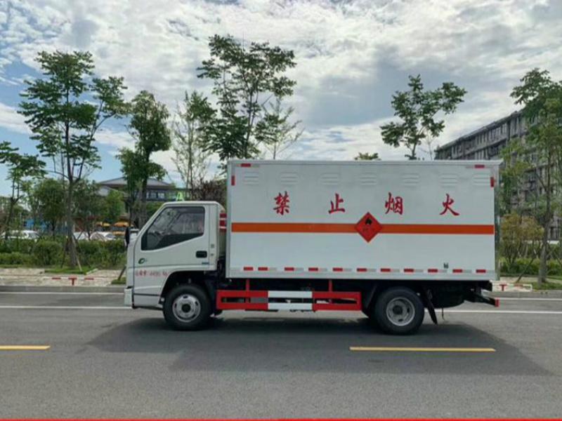 4.2米易燃固体危险品运送车618特惠