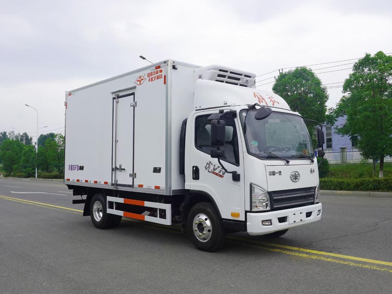 解放VN4.2米冷藏车厂家销售图片