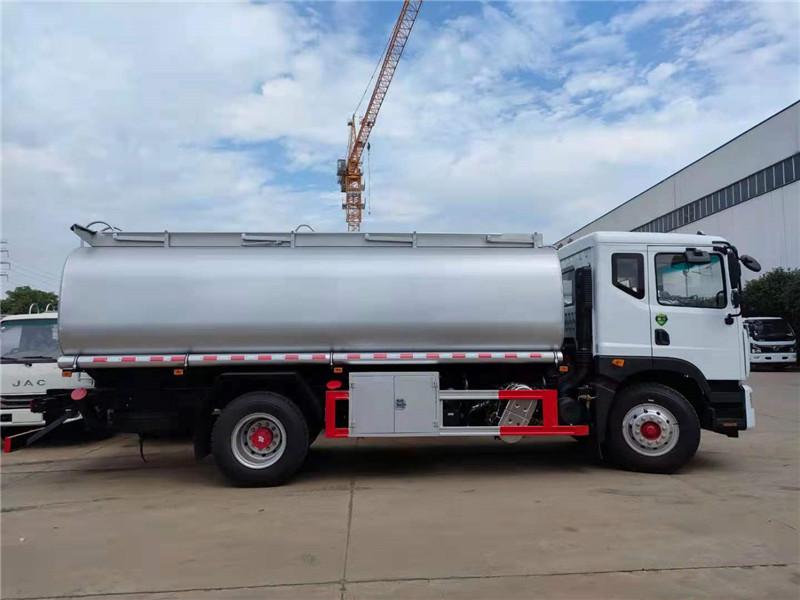 国六东风D9普通液体运输车 15吨拉工业废水污水的车厂家视频视频