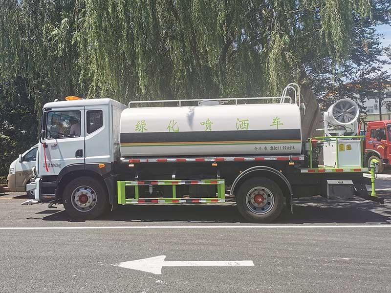 恭喜北京房山客户喜提12吨东风多利卡D9雾炮车