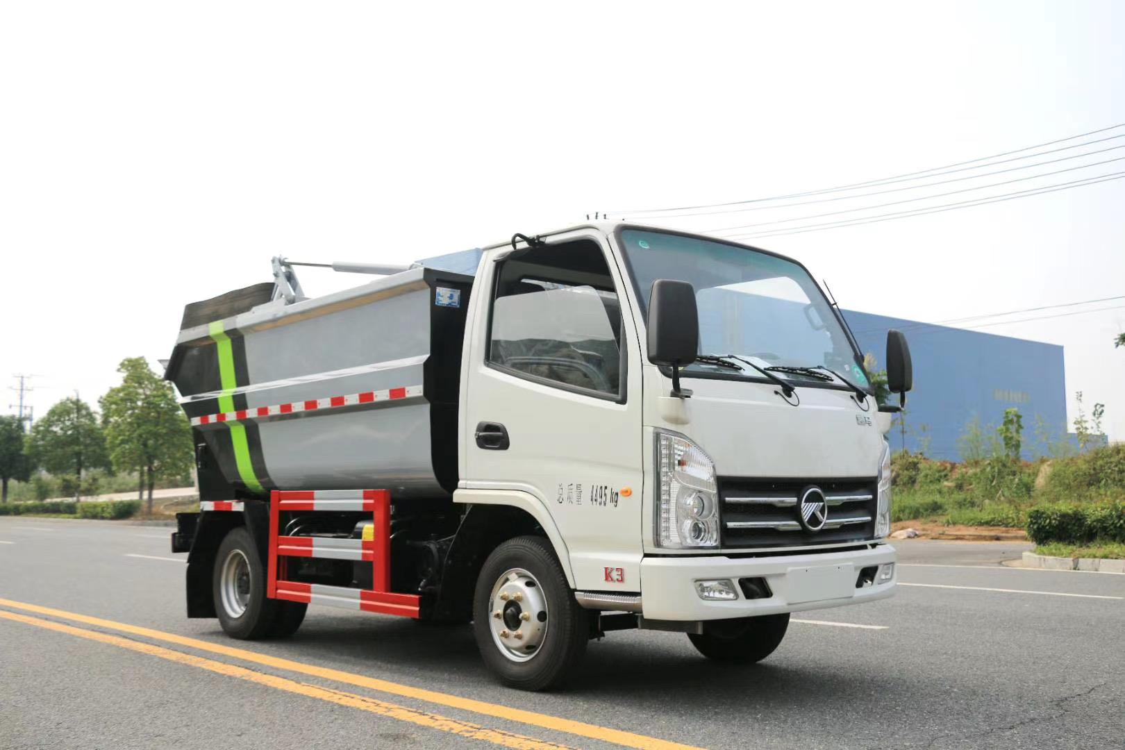 国六3方凯马蓝牌无测漏对接垃圾车程力厂家不超重可分期报价