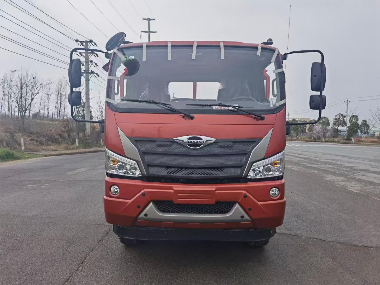福田国六小三轴平板拖车厂家直销在哪里图片