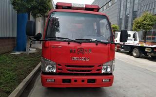 國六五十鈴1.5噸藍牌消防車圖片