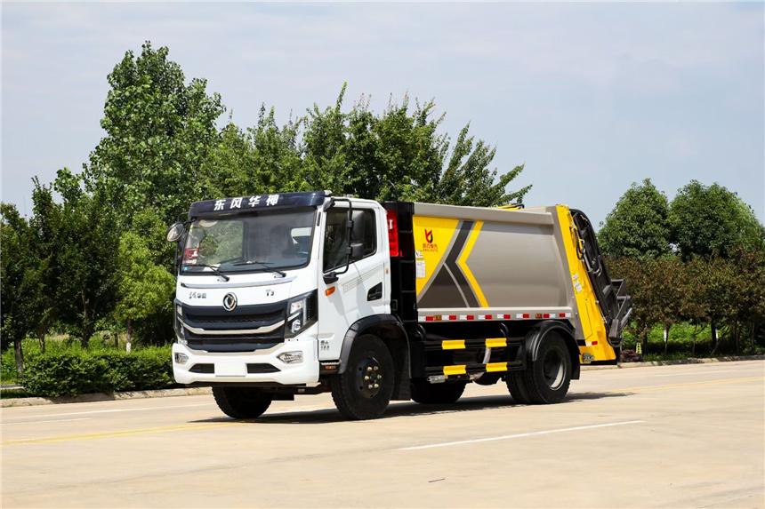 国六10方东风T3压缩垃圾车图片新款上市重磅来袭价格冰点