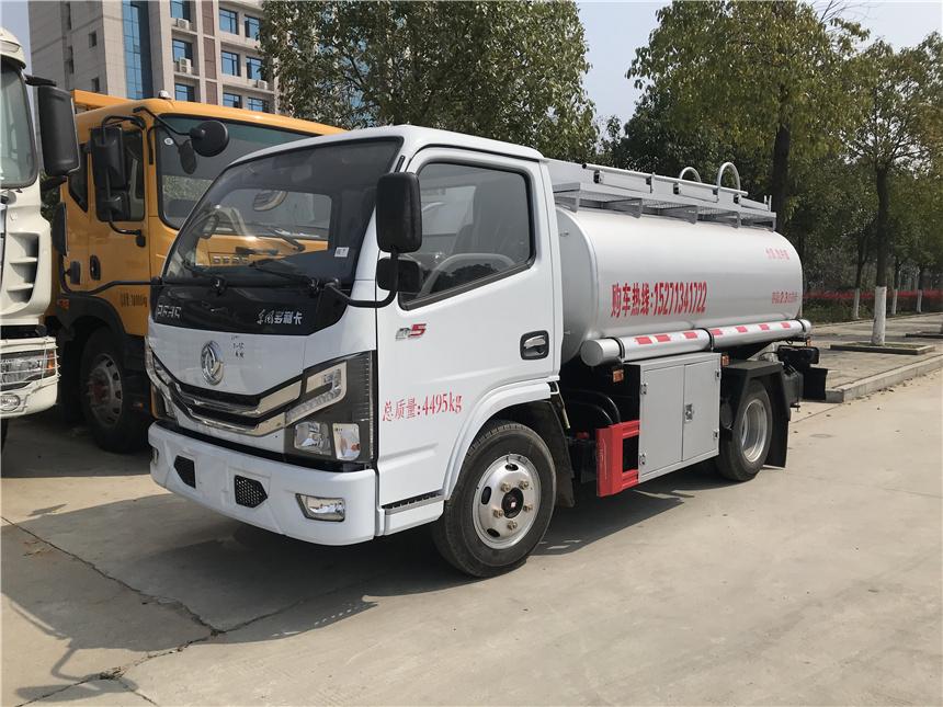 国六2.49方东风蓝牌供液车实际5.5方罐上户不超重C照图片图片
