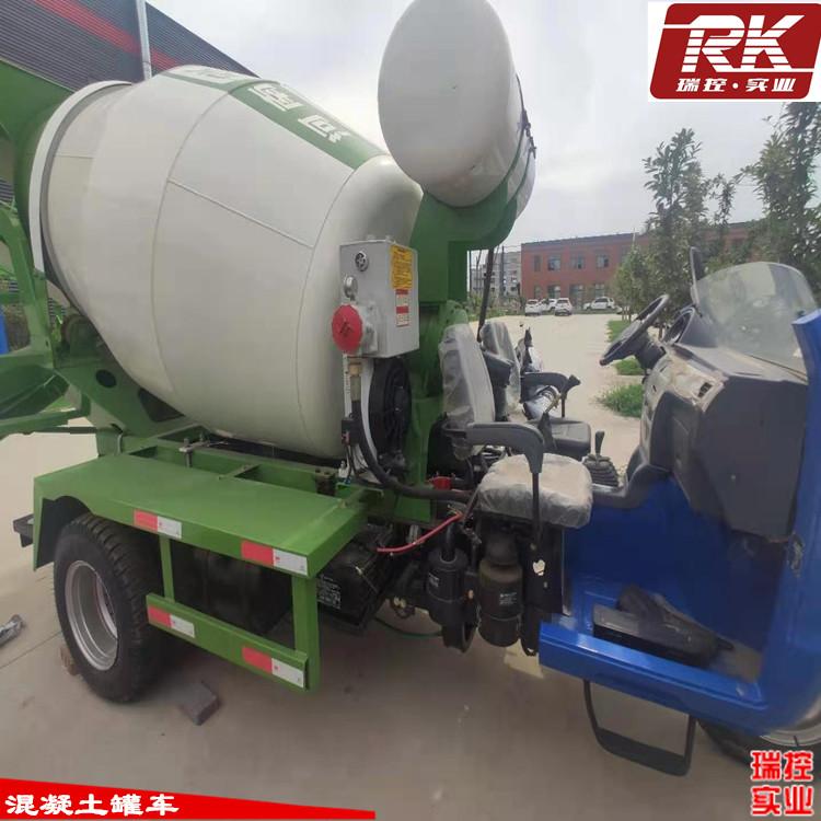 河南瑞控 小型混凝土罐車 2.5方攪拌車 混凝土攪拌車圖片