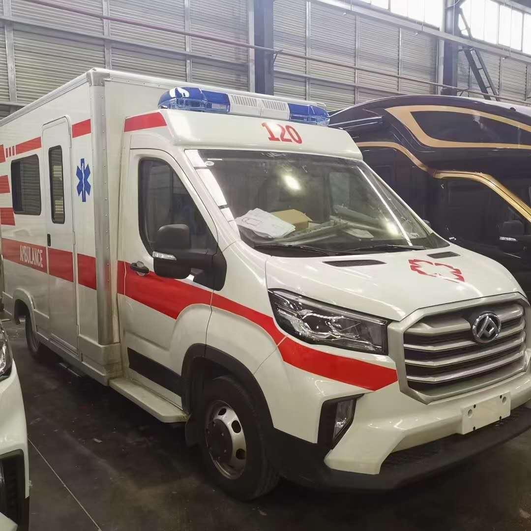 上汽大通V90方艙救護車圖片