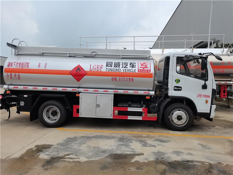 国六东风多利卡9.75立方8吨汽油油罐车加油车多少钱视频视频