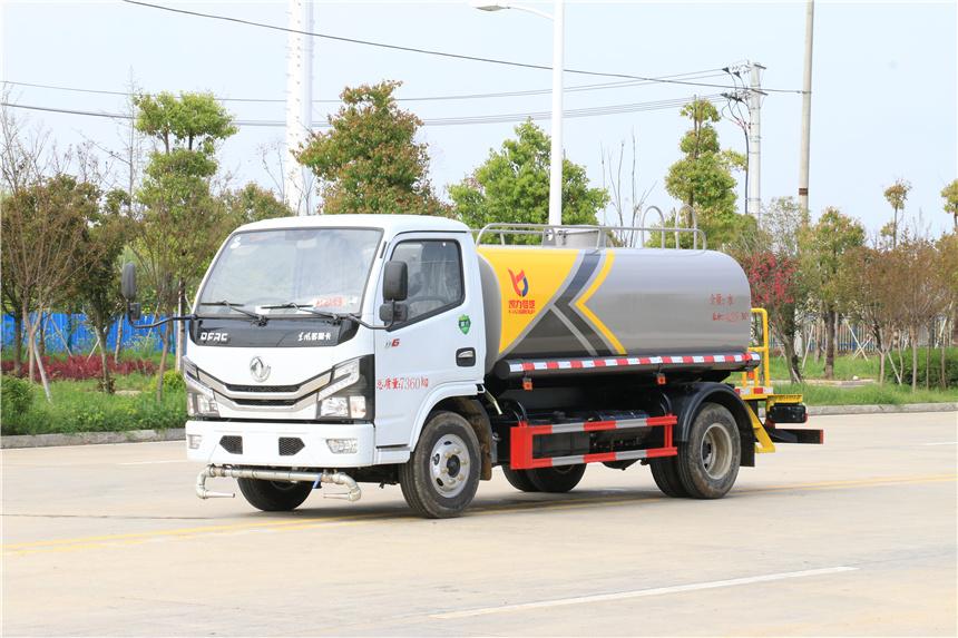 国六6方洒水车东风多利卡程力厂家常年现货供应图片