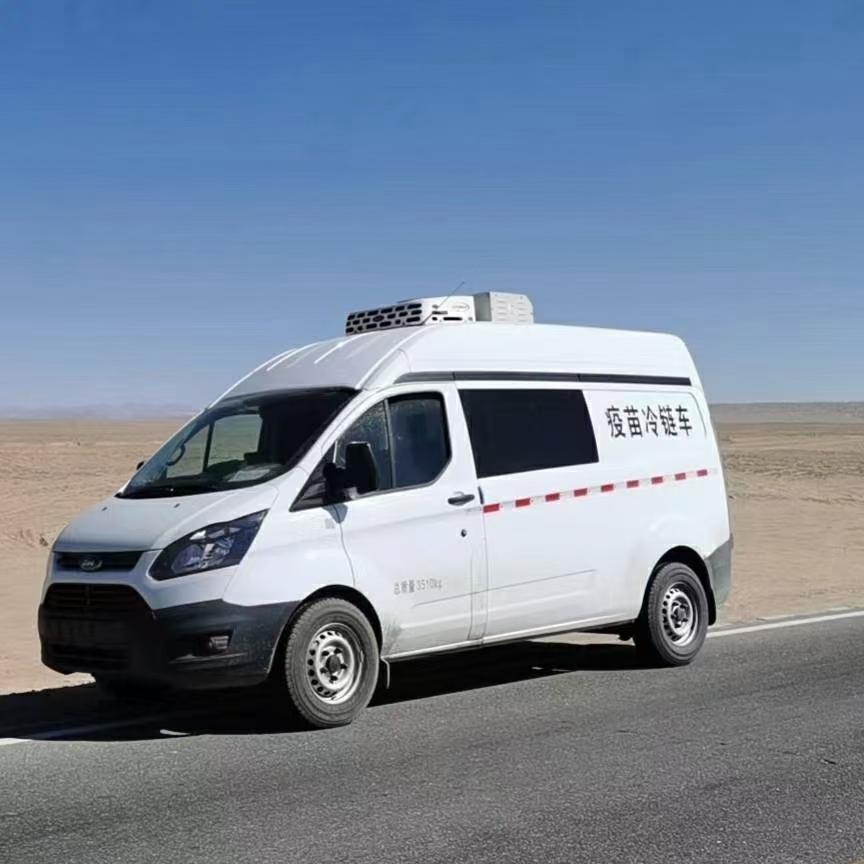 福特v362高端疫苗冷链运输车图片