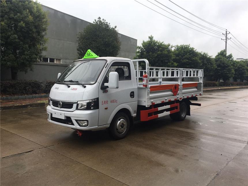 国六蓝牌3.3米东风涂逸杂项气瓶运输车VR全景图片图片