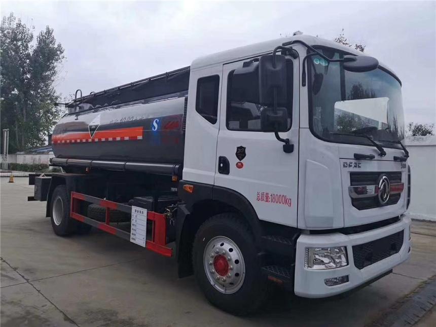 国六10吨甲醇乙醇不超重罐式内塑运输车图片图片