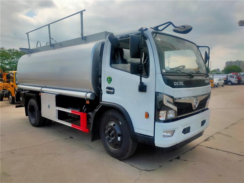 国六东风福瑞卡11方供液车 不锈钢奶罐车图片