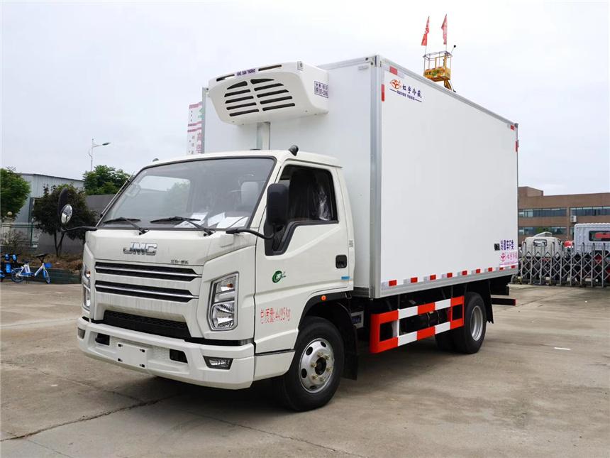 國六4.2米江鈴順達冷藏車廠家全系車型圖片圖片