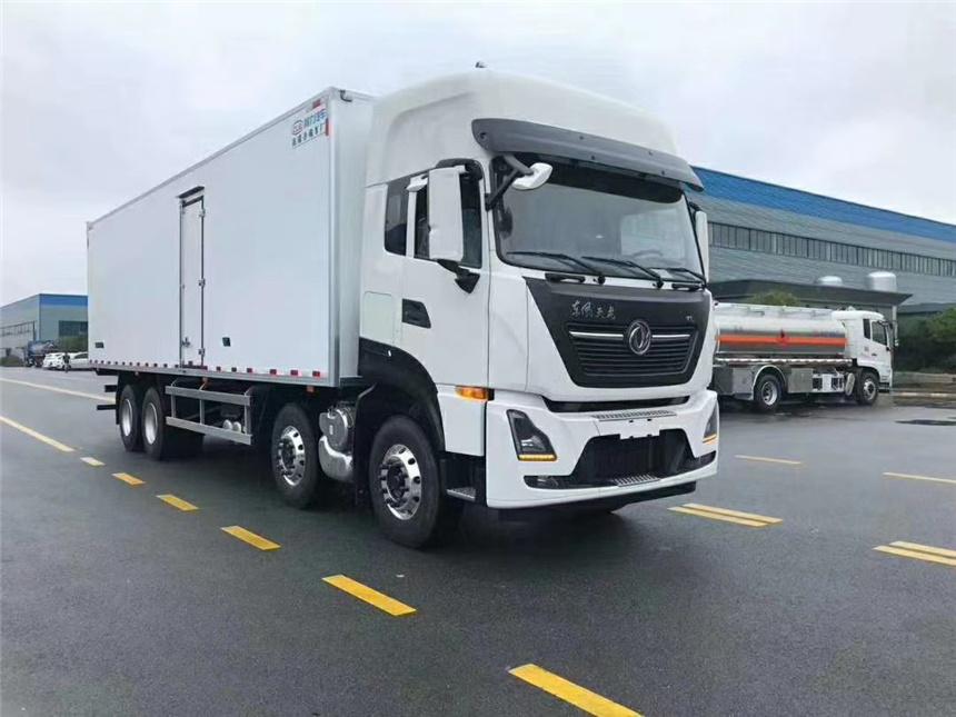 国六9.6米大型冷藏车东风天龙冷鲜链运输车全自动冷冻车