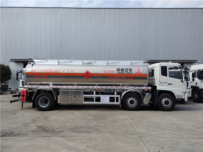 专威牌HTW5261GYYLDQ6型铝合金运油车参数视频视频
