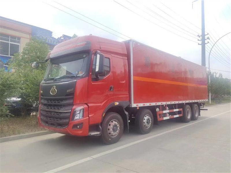 国六四轴易燃液体运输车配置如何图片