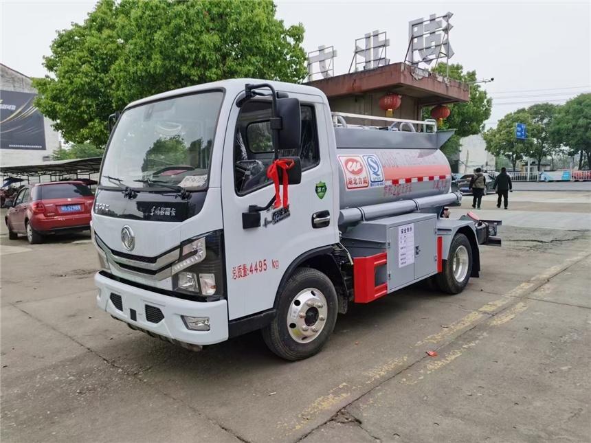 国六2吨蓝牌加油车 小型C照油罐车 流动蓝牌加油车厂家直销