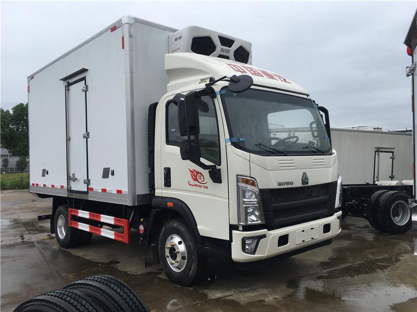 国六重汽豪沃4.2米冷藏车-15度冷冻车图片图片
