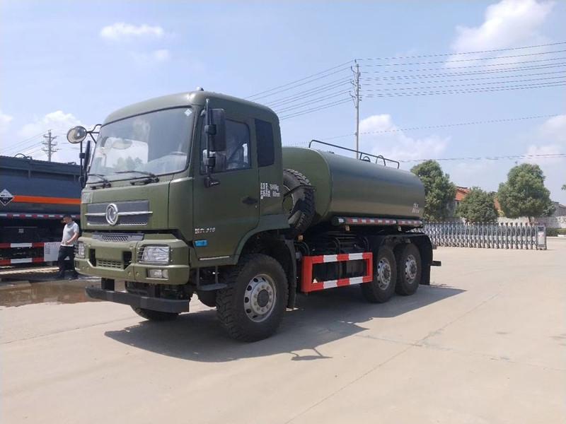 国六排放东风六驱绿化喷洒车消防洒水车价格配置,厂长笔记91