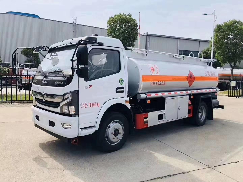 楚胜牌国六东风凯普特8.5方加油车-流动油罐车-高端订制移动加油车